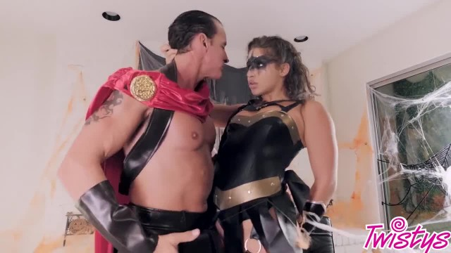 Twistys Hard - Trick or Treat XXX Scene with Abella Danger