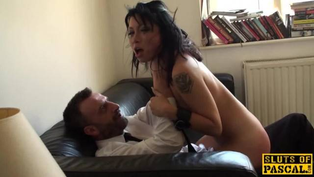 Rowdy Uk sub Disciplined with a Rough Fuck