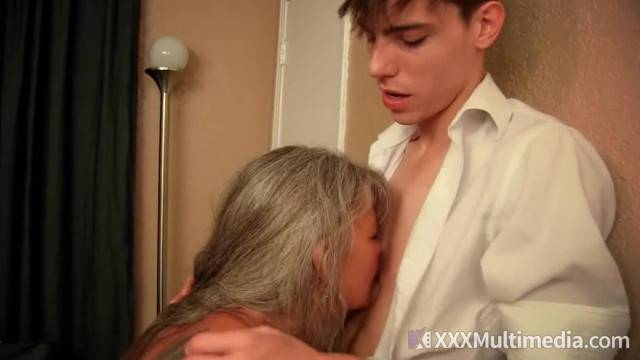 Mature Step Mother Loves her Son Big Hard Cock