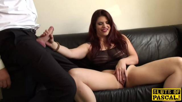 Redhead sub Slut Masturbating until Orgasm