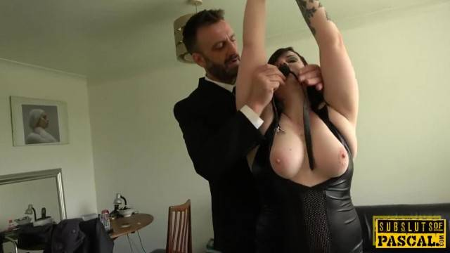 Chubby Uk Pisser Facefucked into Submission