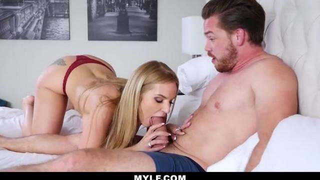Stunning step mom Rachael Cavalli has revenge sex with son